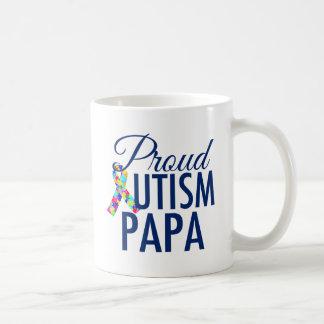 Proud Autism Papa Coffee Mug
