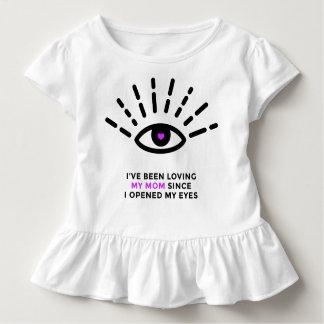 Proud Baby Toddler Ruffle Tee