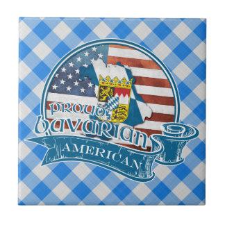 Proud Bavarian American Ceramic Tile