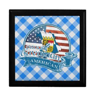 Proud Bavarian American Keepsake Box