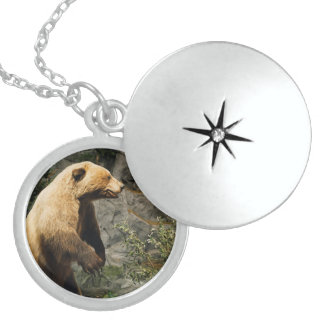 Proud Bear Sterling Silver Necklace