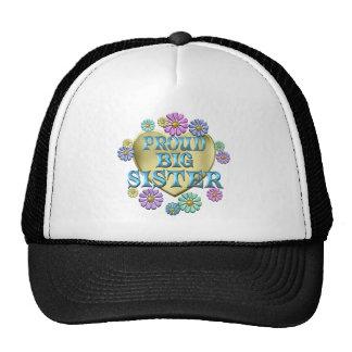 PROUD BIG SISTER TRUCKER HAT