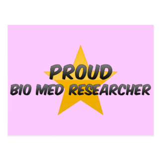 Proud Bio Med Researcher Postcards