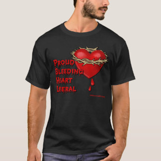 Proud Bleeding Heart Liberal T-Shirt