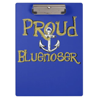 Proud Bluenoser Nova Scotia anchor clip board