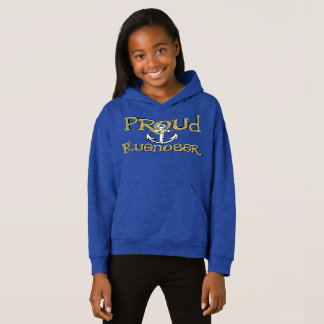 Proud Bluenoser Nova Scotia anchor hoodie sweater