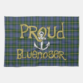 Proud Bluenoser Nova Scotia anchor kitchen towel