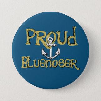 Proud Bluenoser Nova Scotia anchor pin Badge