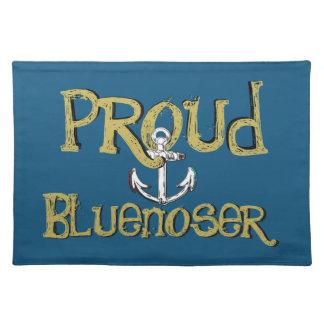 Proud Bluenoser Nova Scotia anchor   place mat