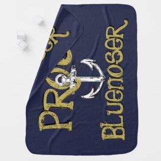 Proud Bluenoser Nova Scotia Receiving Blanket