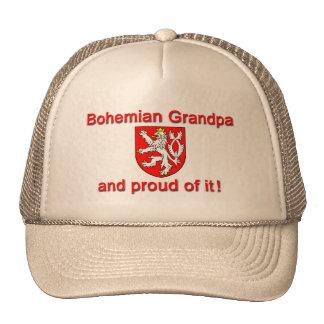 Proud Bohemian Grandpa Cap