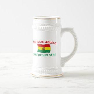 Proud Bolivian Abuelo 18 Oz Beer Stein