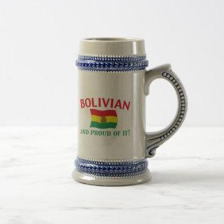 Proud Bolivian Beer Steins