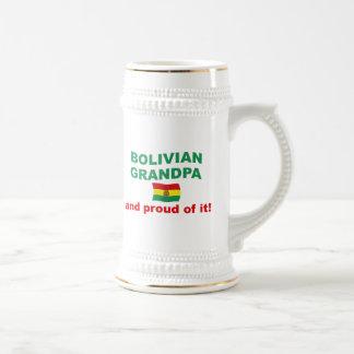 Proud Bolivian Grandpa Beer Steins