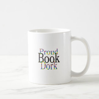 Proud Book Dork Coffee Mug