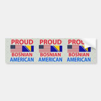 Proud Bosnian American Bumper Sticker