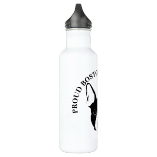 PROUD BOSTON TERRIER MOM 710 ML WATER BOTTLE