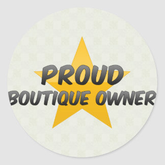 Proud Boutique Owner Stickers