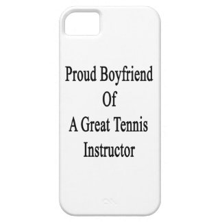 Proud Boyfriend Of A Great Tennis Instructor iPhone 5 Cover