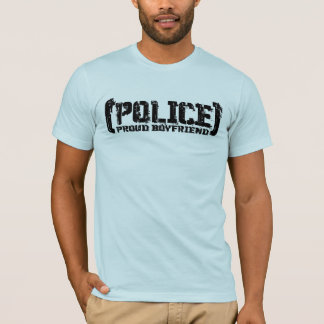 Proud Boyfriend - POLICE Tattered T-Shirt