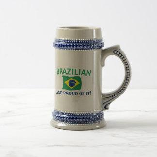 Proud Brazilian Mugs