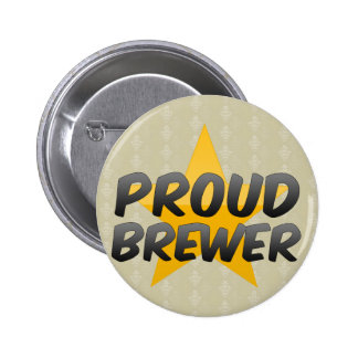 Proud Brewer Pinback Buttons