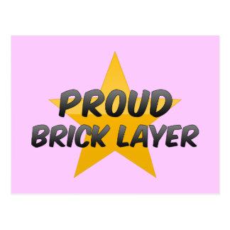 Proud Brick Layer Post Cards