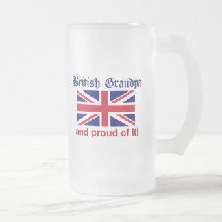 Proud British Grandpa Mug