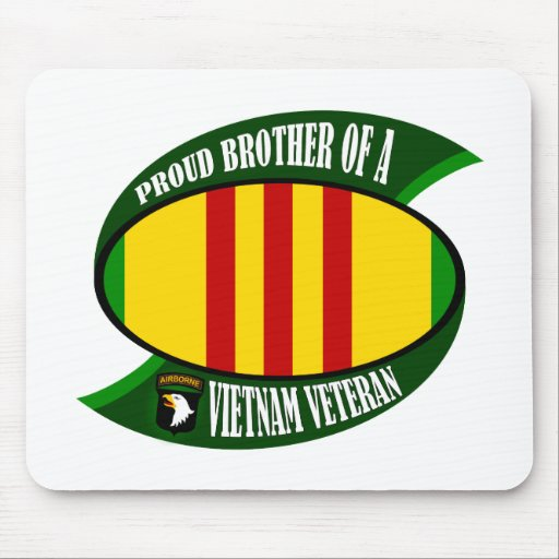 Proud Brother Mouse Pad