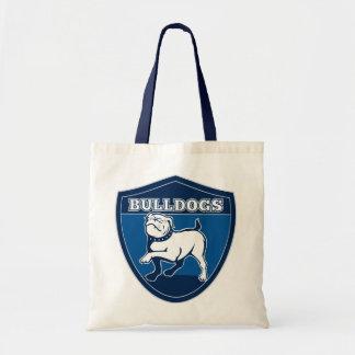 Proud Bulldog Puppy Cartoon Tote Bag