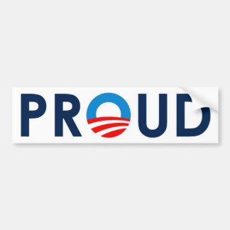 """PROUD"" Bumper Sticker"