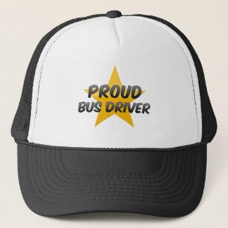 Proud Bus Driver Trucker Hat