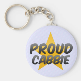 Proud Cabbie Key Ring