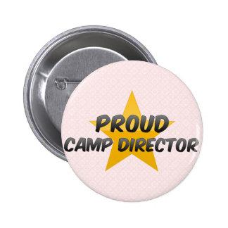 Proud Camp Director 6 Cm Round Badge