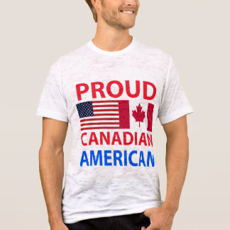 Proud Canadian American T-Shirt