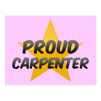 Proud Carpenter Postcards