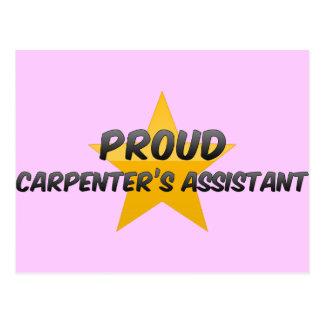 Proud Carpenter's Assistant Post Cards