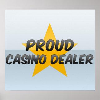 Proud Casino Dealer Print