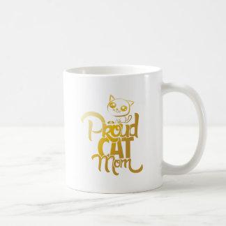 Proud Cat Mom Mug