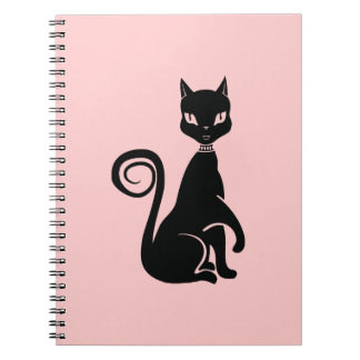 Proud Cat Spiral Notebook