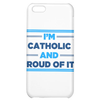Proud Catholic Cover For iPhone 5C