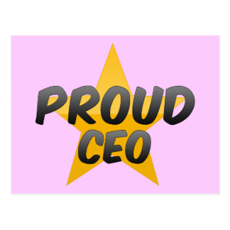 Proud Ceo Post Cards