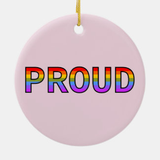 PROUD CERAMIC ORNAMENT
