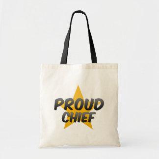 Proud Chief Tote Bag