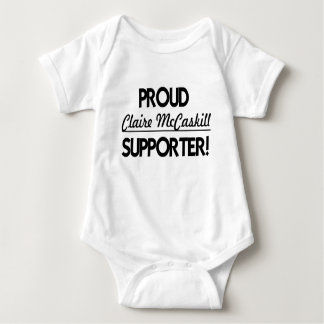 Proud Claire McCaskill Supporter! Baby Bodysuit