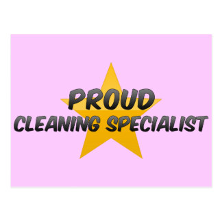 Proud Cleaning Specialist Post Card