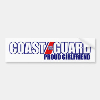 Proud Coast Guard Girlfriend Bumper Sticker