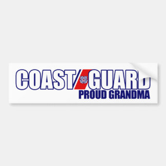 Proud Coast Guard Grandma Bumper Sticker