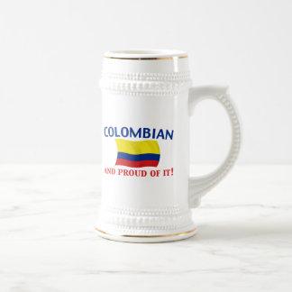 Proud Colombian Beer Steins