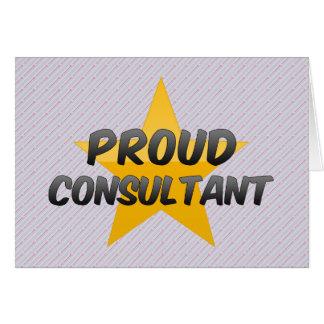 Proud Consultant Card